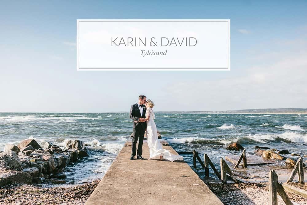 Karin och Davids bröllop på Tylösand