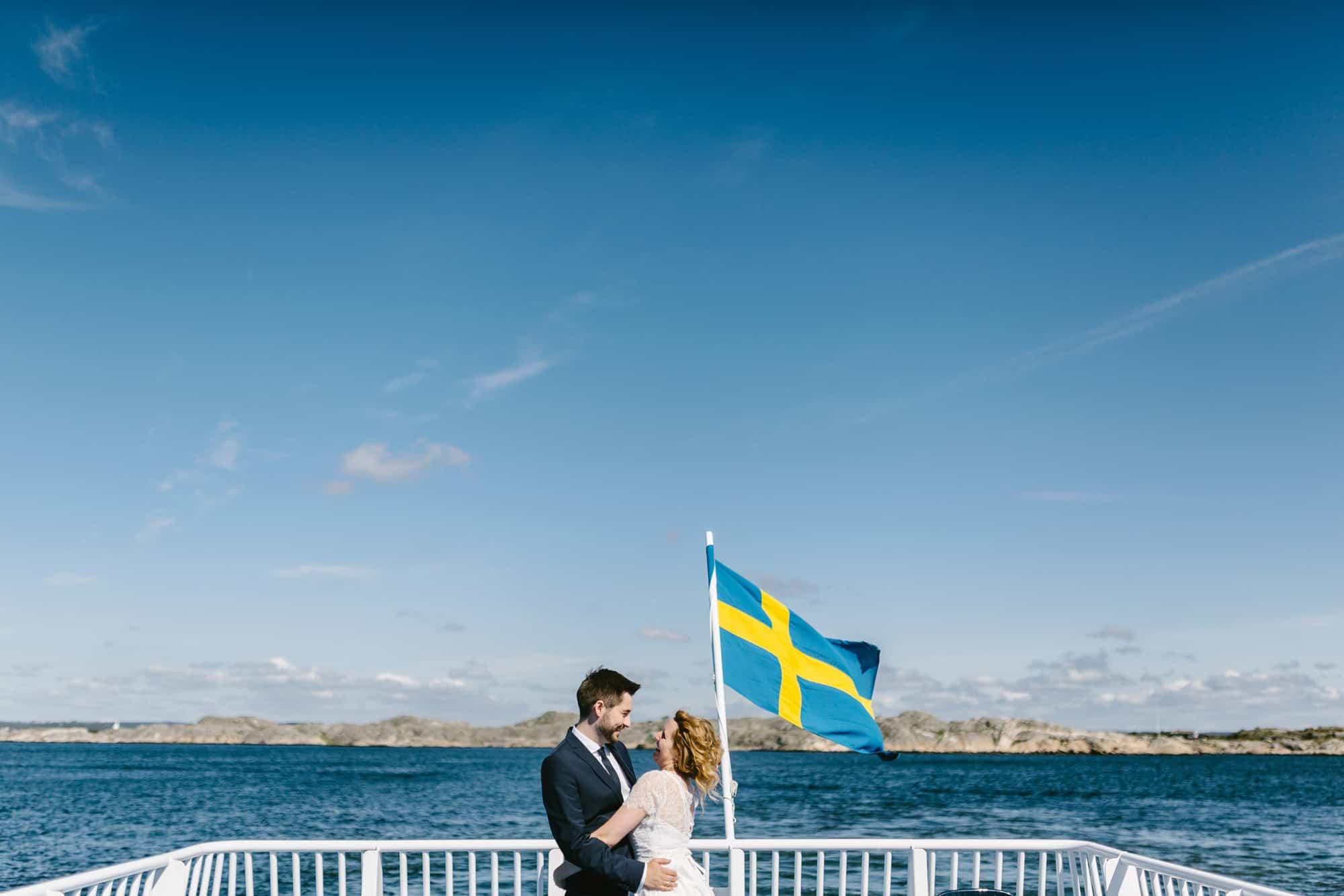 Stora mosskullen, Sommar, Bröllop, Hav, Västkusten, Gothenburg