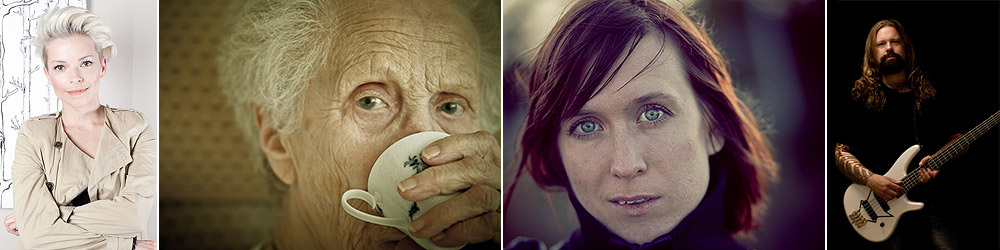 Portraits by Oskar Allerby