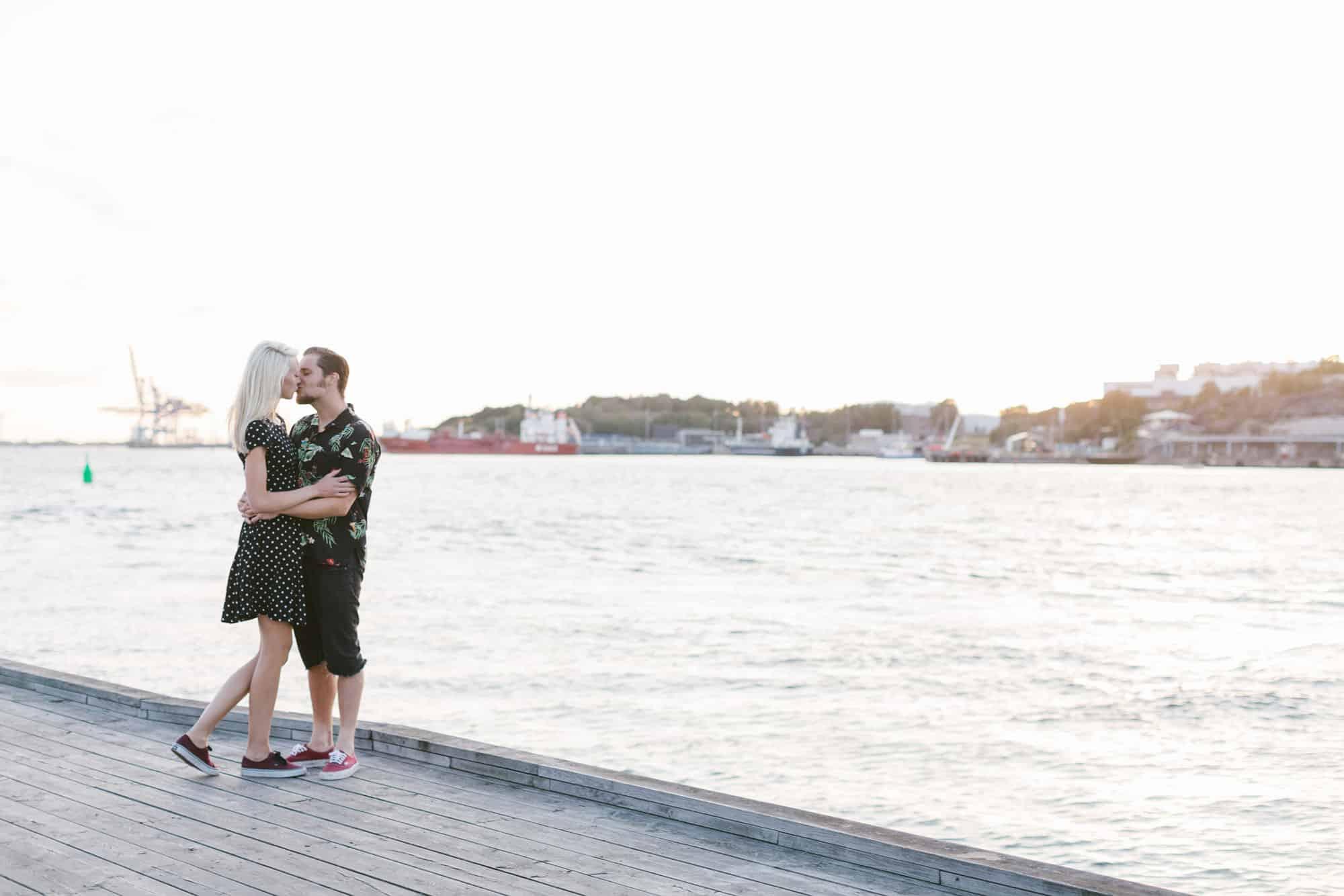 Johanna & Henriks Engagement session by Röda Sten in Gothenburg
