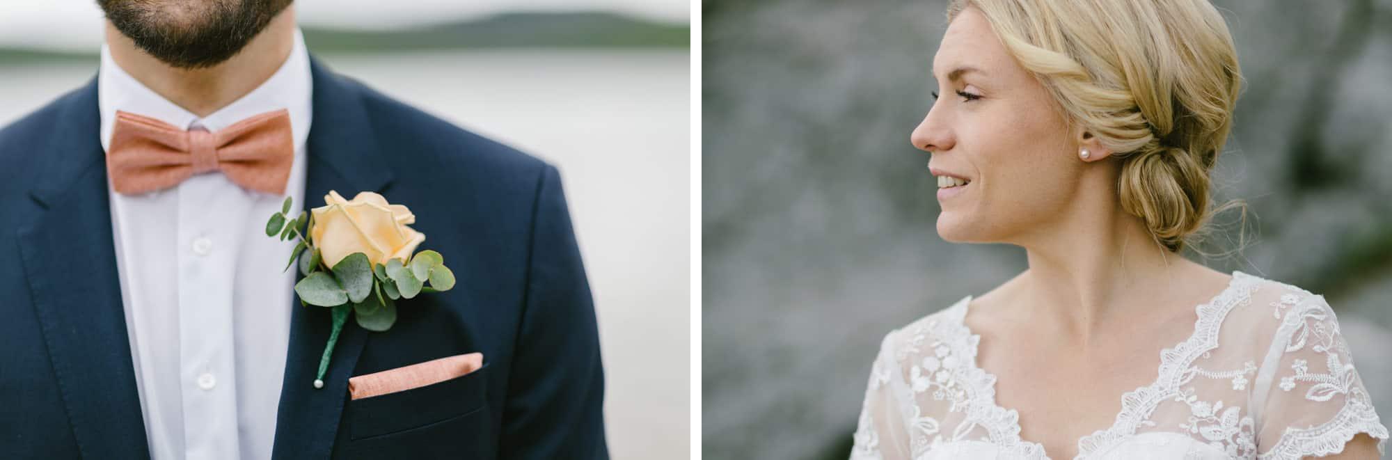 Bröllop, Bohuslän, Skredsvik, , Munkedal, Gullmarn, Sommar,Porträtt, Portraits, Sverige, Hedvig & Daniel, Oskar Allerby, Sweden