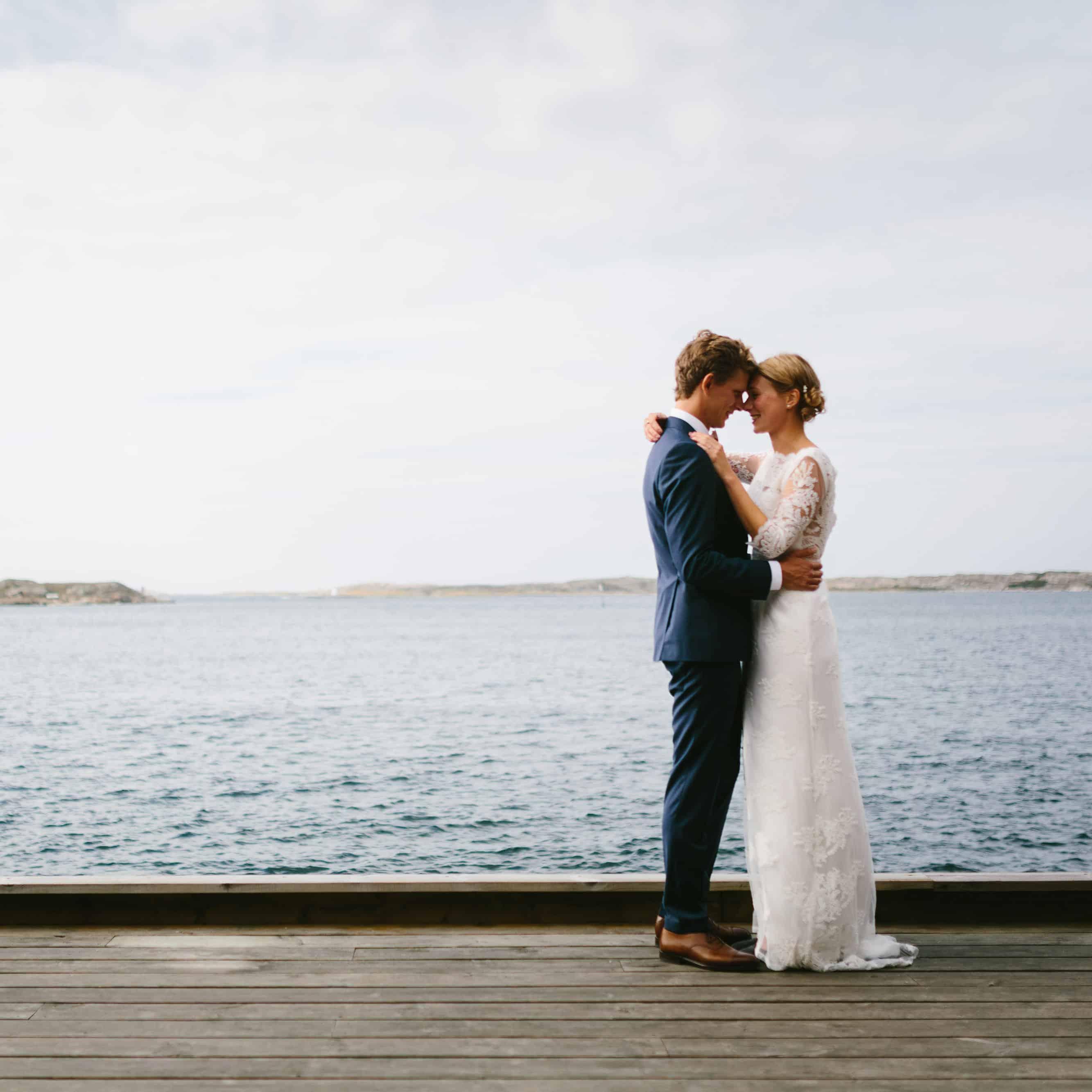 Jenny och Daniels bröllop i Grundsund och Rågårdsvik på Skaftö i Bohuslän fotograferat av Oskar Allerby